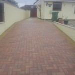 Driveway After Resand and Sealed