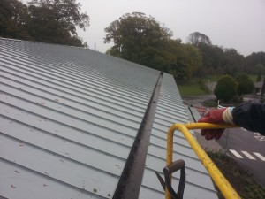 Commercial And Industrial Gutter Cleaning Wales Patio
